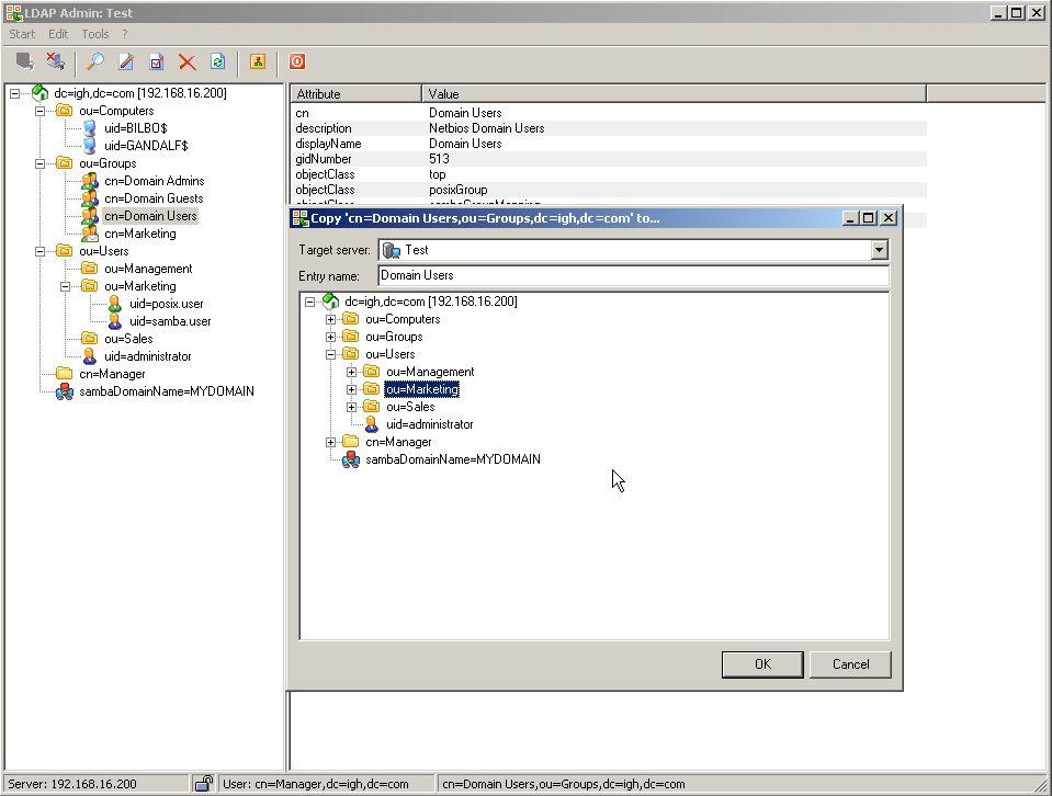 LDAP Admin: Screenshots